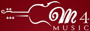 logo m 4 music